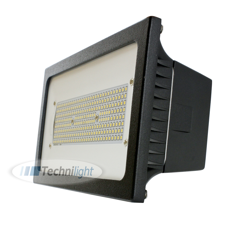 projecteur del tlfl75tupbk 120 240v 5000k technilight. Black Bedroom Furniture Sets. Home Design Ideas